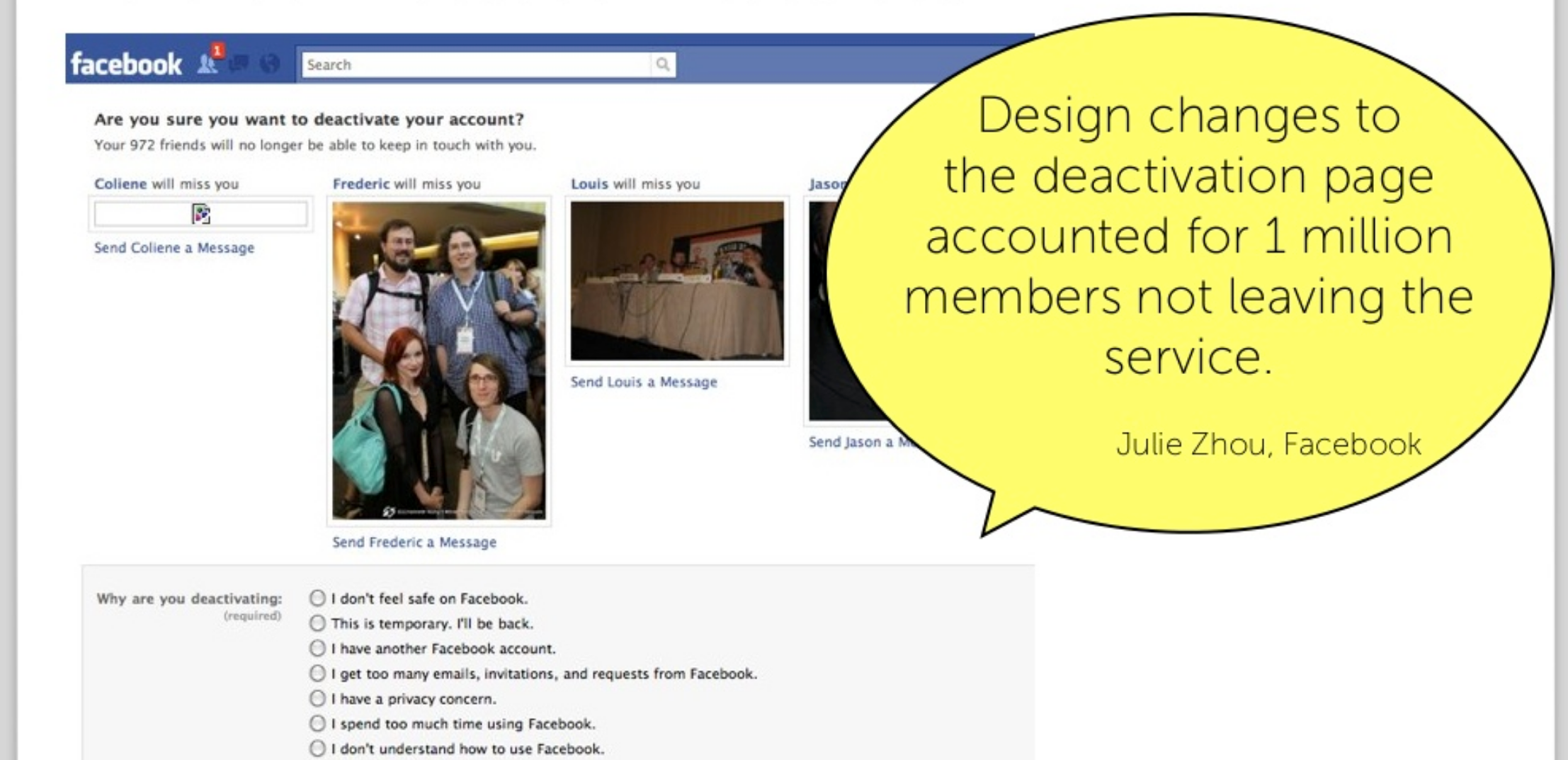Endowment Effect tested at FaceBook