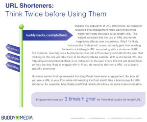 Ambiguity induced by URL shorteners